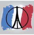 peace for paris 3 vector image