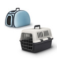 pets carrier vector image vector image