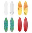 surfboard stock vector image vector image