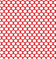 White dots on a red vector image vector image