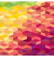 Colourful rhombic background For prints web vector image vector image