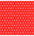 Dots Red Pattern vector image vector image