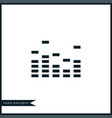 equalizer icon simple vector image