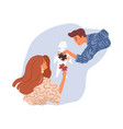 parents role in child upbringing and education vector image vector image