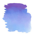 purple watercolor hand drawn gradient banner vector image vector image