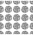 seamless circular ornament vector image vector image