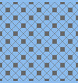 tile pattern with grey and blue background vector image vector image