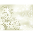 winter soft background vector image vector image