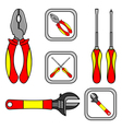 working tools vector image vector image