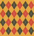 argyle fall seamless pattern plaid vector image vector image