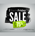 black friday sale advertisement realistic vector image