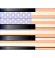large and small old glory keys vector image
