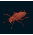 Pest control concept with insects exterminator vector image