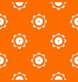 tambourine pattern seamless vector image vector image