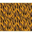 tiger skin seamless repeated texture orange vector image
