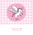 Unicorn card vector | Price: 1 Credit (USD $1)