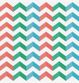 zigzag seamless pattern chevron vector image vector image