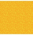Orange and yellow dotted seamless pattern vector image