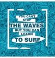 Typographic Nautical Card vector image