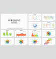 big collection simple infographic design vector image