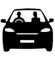 Car share commute vector image