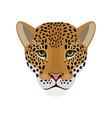 cartoon jaguar head vector image