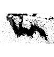 hand-made grunge texture abstract ink drops vector image vector image