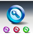 key icon secure security web vector image
