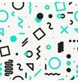 minimal geometric pattern vector image