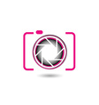 photography logo vector image vector image