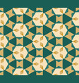 retro bright seamless geometry pattern design vector image