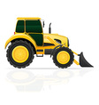 tractor 02 vector image vector image
