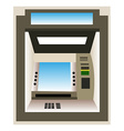ATM machine background vector image