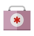Basic car emergency kit first help equipment vector image
