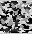 camouflage seamless pattern in a white grey and vector image vector image