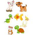 Cartoon pet vector image