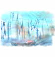 Detroit abstract vector image vector image