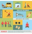 Disabled Icons Set vector image vector image