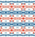Geometric pattern with Scandinavian ethnic motifs vector image vector image