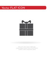 gift icon for web business finance and vector image vector image