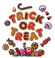 halloween gingerbread cookies vector image vector image