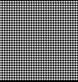 monochrome hounds tooth seamless pattern vector image