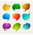 Speak bubbles vector image