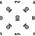 webcam pattern seamless black vector image vector image