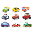 Car toys vector image vector image