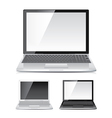 object laptop vector image