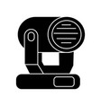 lights show icon black sign vector image
