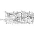 adware spyware free vector image vector image