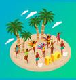 brazilian carnival concept vector image vector image