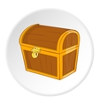 Chest icon cartoon style vector image vector image